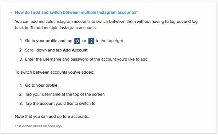 Instagram instruction 1