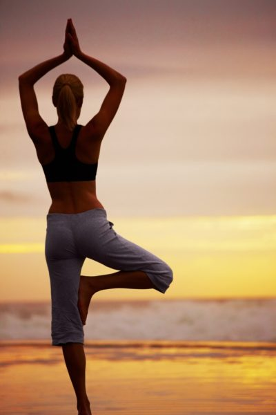 yoga TreePose 1