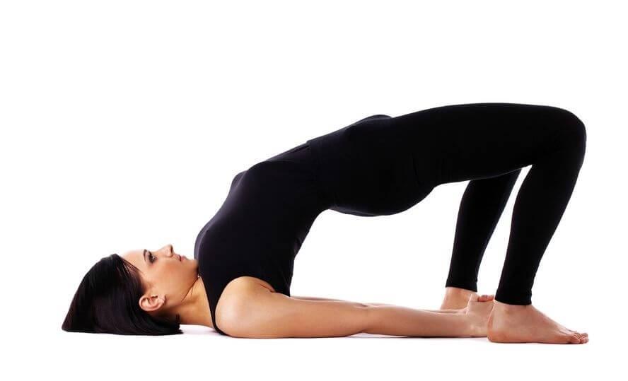 yoga bridgepose