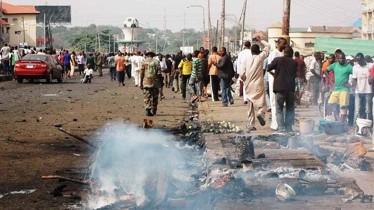 ethno religious tensions in nigeria bridge In nigeria, ethno-religious violence have assumed disturbing dimension in places like shagamu (ogun state), lagos, abia, kano, bauchi, nassarawa, jos.