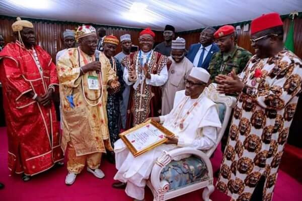 Buhari-Chieftaincy-Title