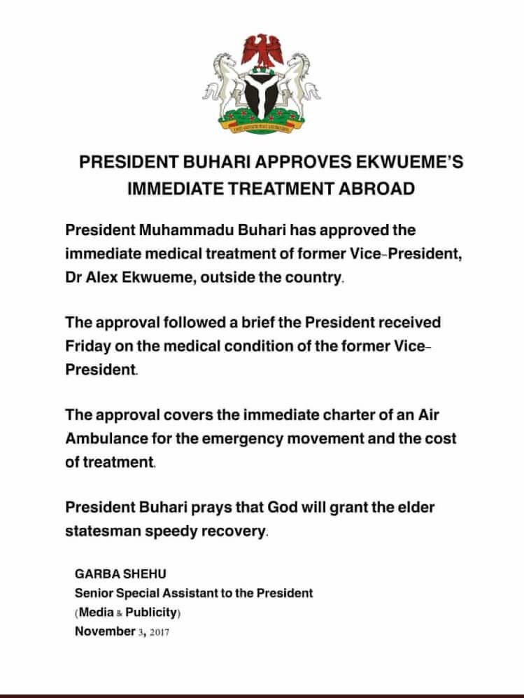 Presidency-on-Ekwueme