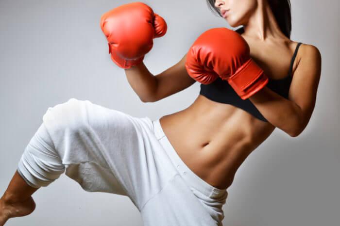 kick-boxing-woman