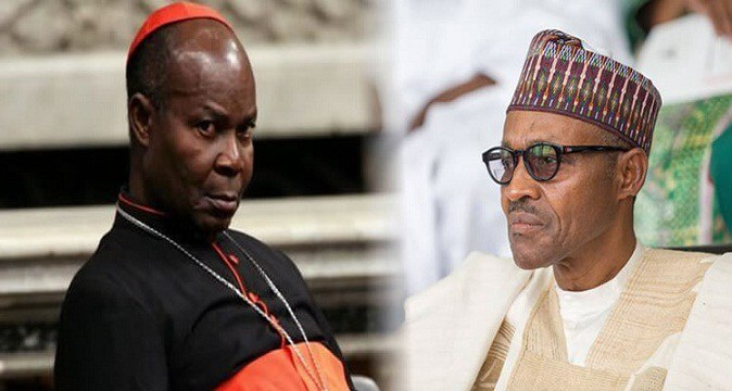 Image result for Are you for Nigerians – Okogie queries Buhari,