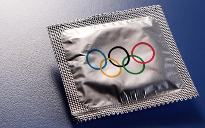 Olympics-condom