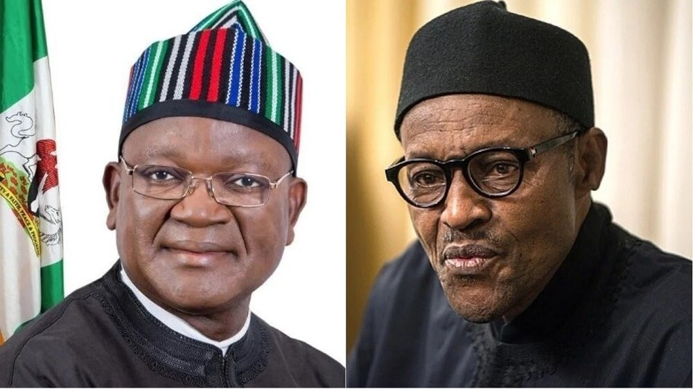 Image result for Probe Buhari first, Governor Ortom tells EFCC
