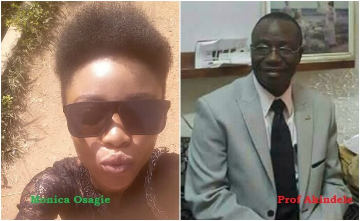 Image result for Monica Osagie Vs Prof Richard Akindele