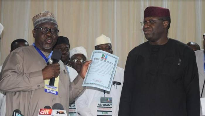 Ekiti Primary: Al-Makura submits report, attributes success to aspirants, delegates' conduct