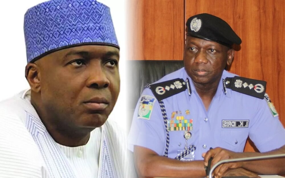 Saraki Attempting To Obstruct Justice, Say Police