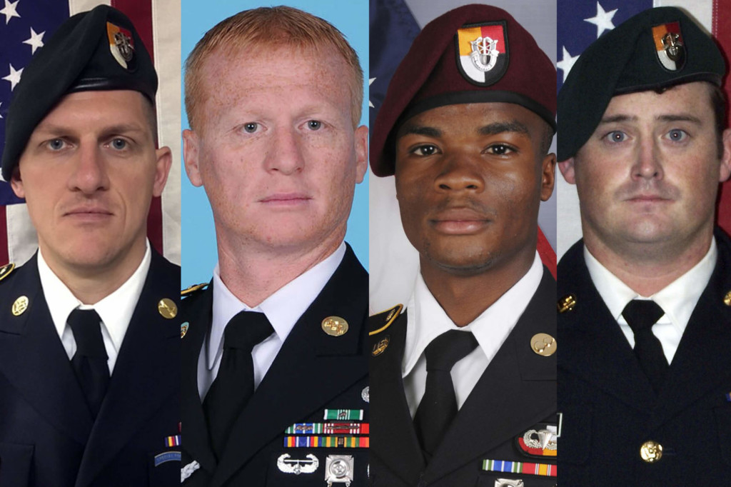 Niger ambush resulted from a number of failures, Pentagon says