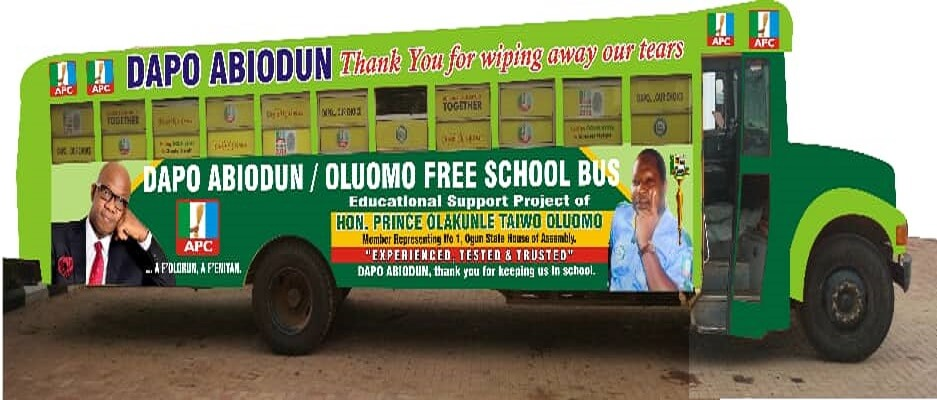 Ogun-Gov-Elect-Replaces-Oluomo's-Burnt-Bus.