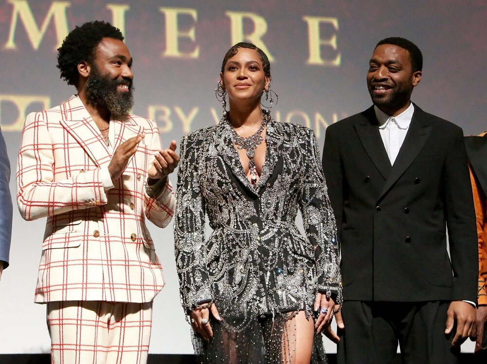 Beyonce-Ejiofor-The-Lion-King-premiere