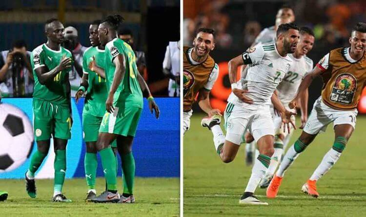 Senegal - Vs - Algeria