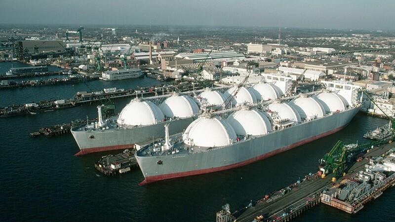 Gas-export-termina