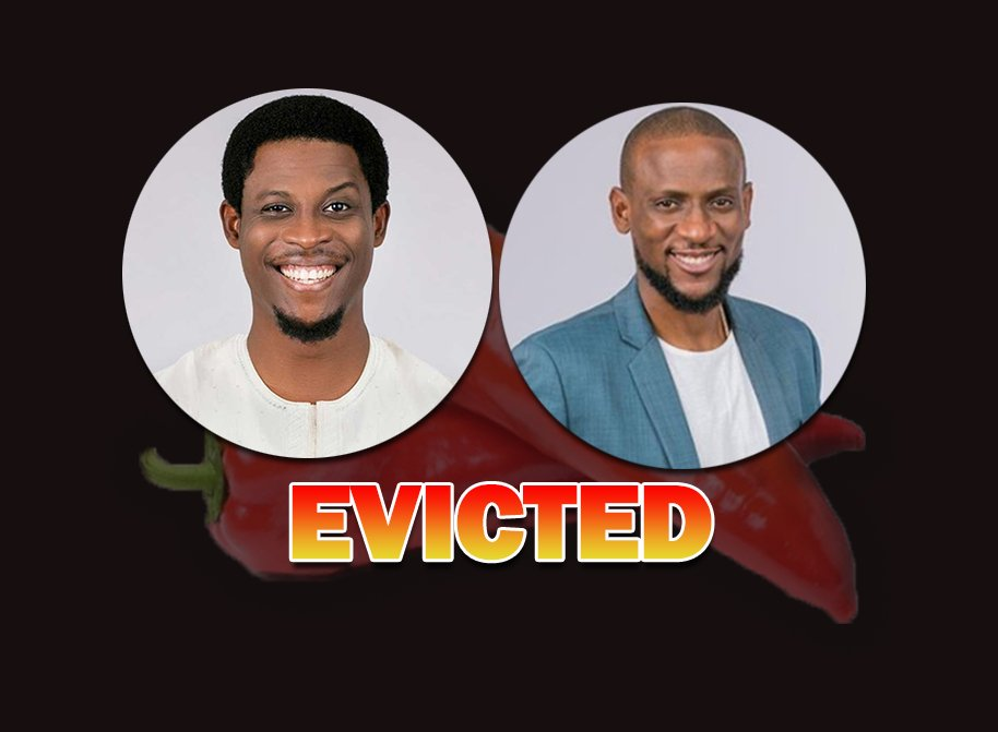 Image result for images of BBNaija: Seyi and Omashola evicted from the Big Brother House