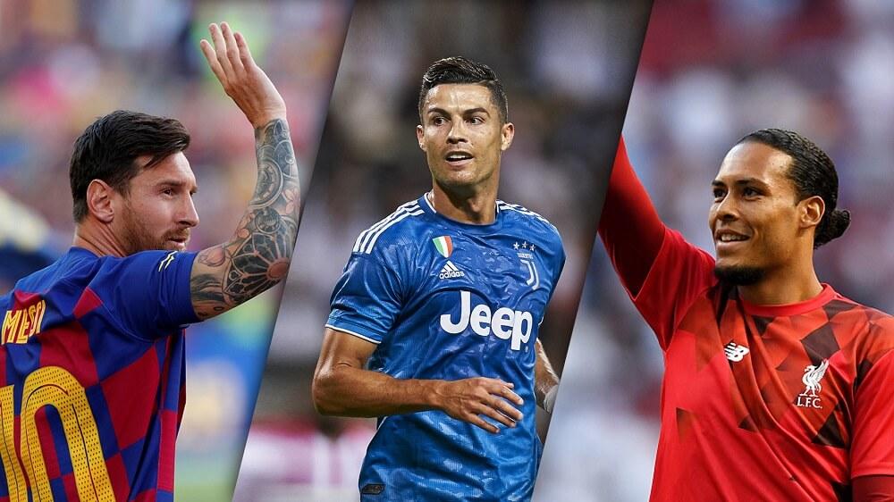 Ballon-dOr-2019-Messi-Ronaldo-and-Van-Dijk