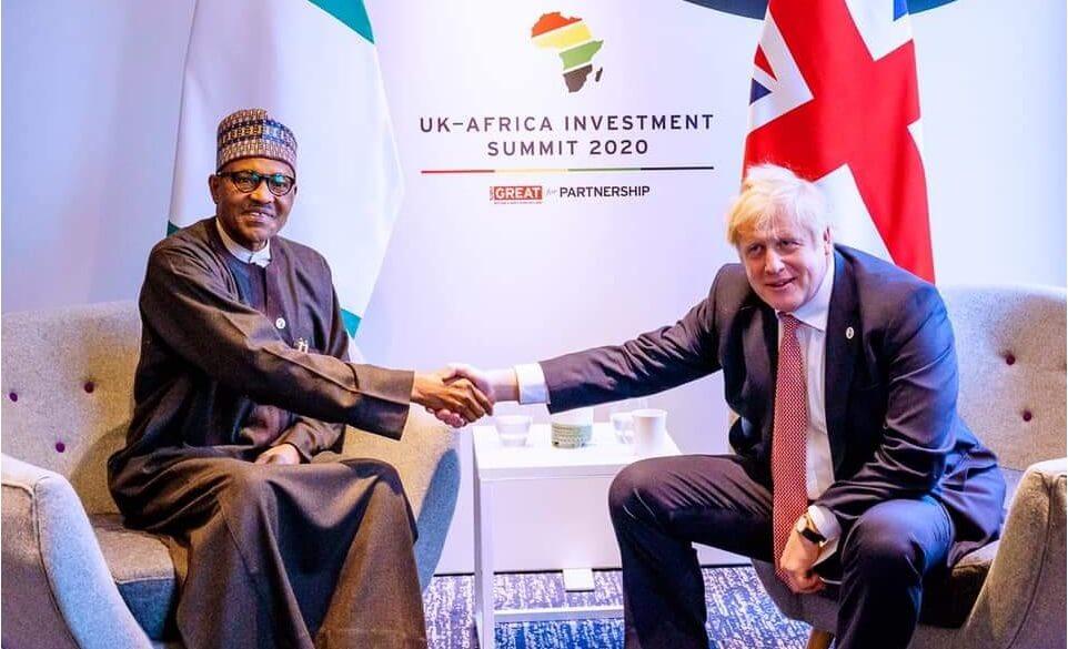 Buhari-and-Boris-Johnson-at-UK-Africa-Investment-Summit-