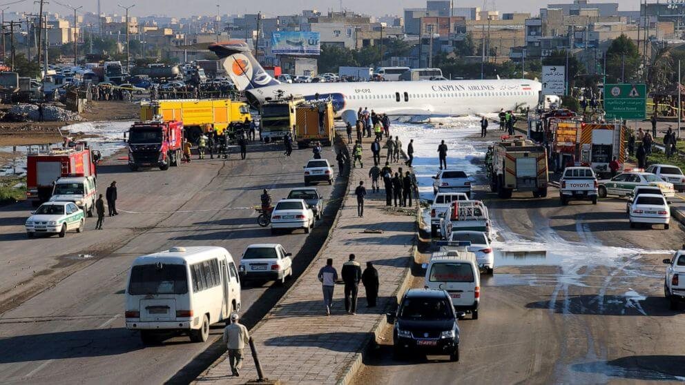 Iranian-Airliner-Crash-Lands-