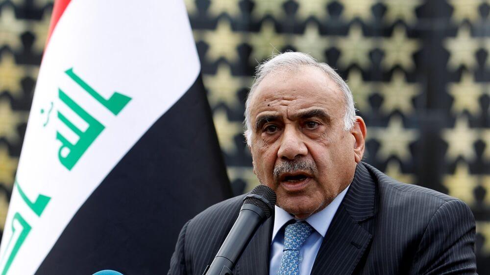 Iraqi Prime Minister, Adel Abdul Mahdi.
