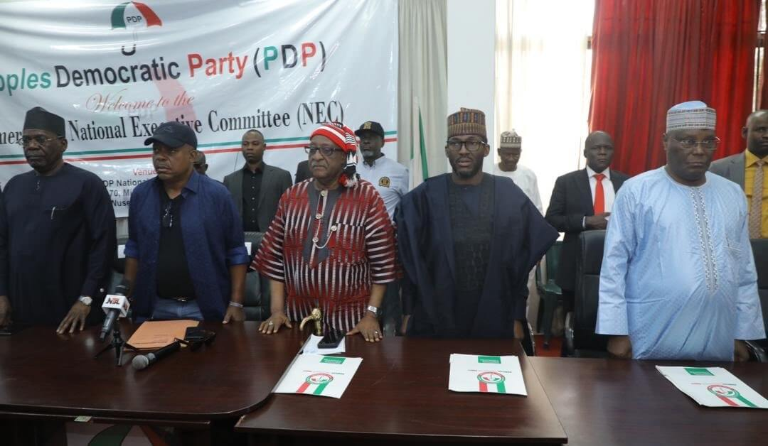 PDP-National-Executive-Committee-Meeting