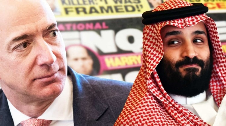 Jeff- Bezos Saudi Crown Prince
