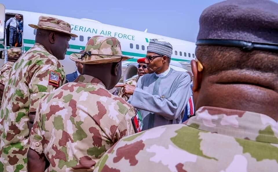 Buhari-in-Maiduguri-over-Boko-Haram-attack
